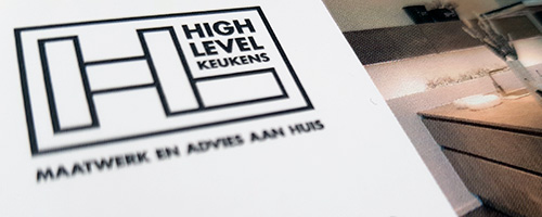 Branding & Corporate Identity | High Level Keukens