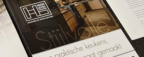 Grafische vormgeving & ontwerp | High Level Keukens