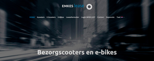 Online marketing & webdevelopment | Emkes Lease