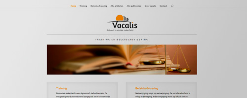 Online marketing & webdevelopment | Vacalis BV