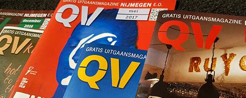 Magazines, boeken & jaarverslagen | QV nijmegen
